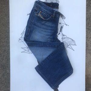 Diesel Industry Straight Leg Denim Jeans